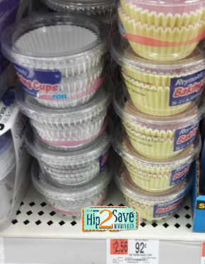 rey Reynolds Baking Cups Only $0.42!