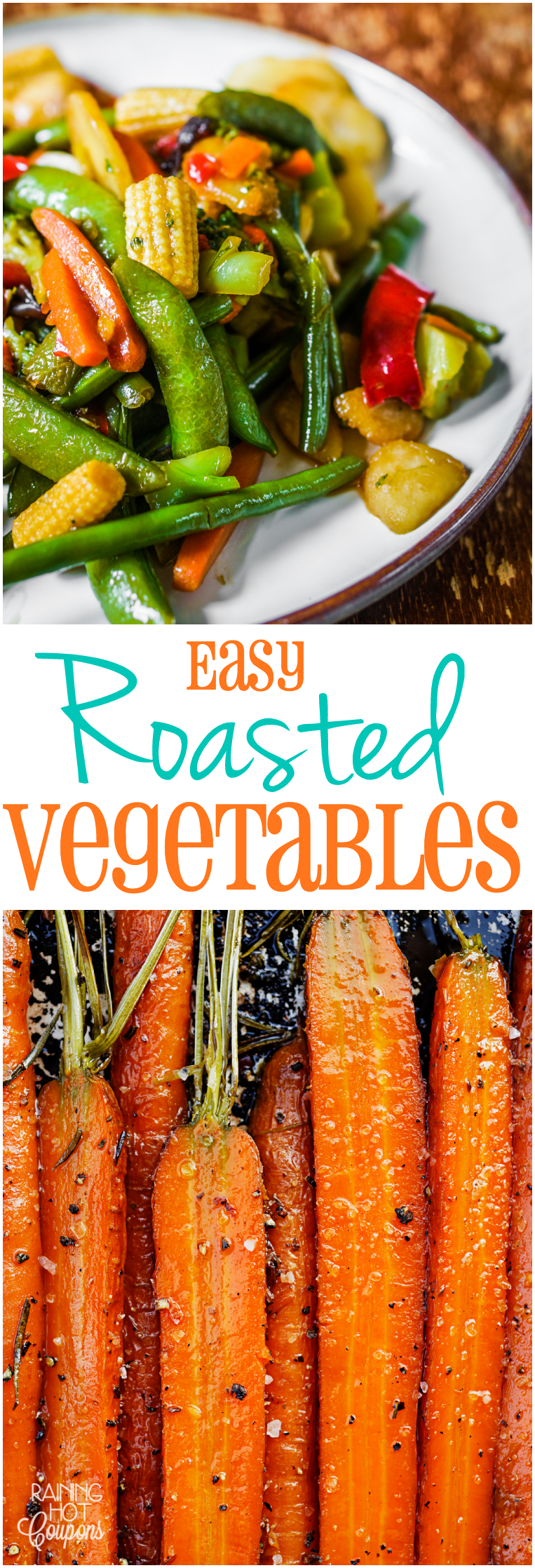 roasted vegetables Easy Roasted Vegetables