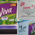 Viva Paper Towels, 6 Pack, Just $2.49 Each at Walgreens