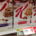 Kellogg's Cereal Only $1.32 Each at Target