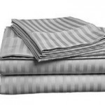 ITALIAN 1500 Thread Count Stiped 4PC Queen Sheet Set ONLY $25.99 (Reg. $99.99)!