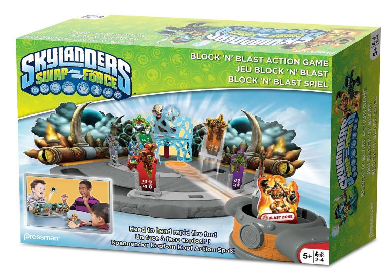 Skylanders Block and Blast Action Game Only $7.19 (Reg. $29.99)!