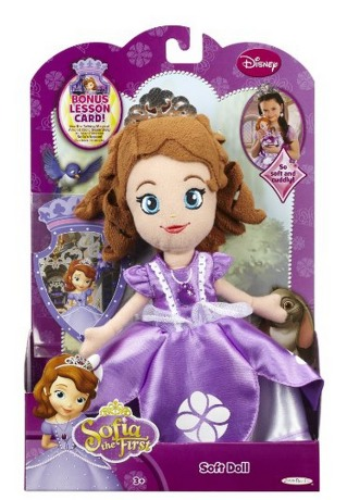 Sofia the First Soft Doll Only $5.98 (Reg. $12.99)