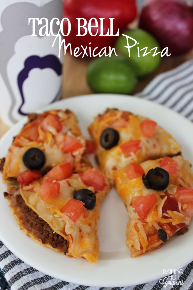 how to make mexican pizza like taco bell