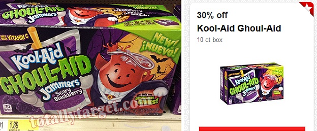 target *HOT* Target: Kool Aid Ghoul Aid 10ct Box Only $1.32!