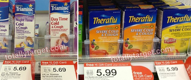 theraflu triaminc deal Target: Triaminic Syrup & Theraflu Only $0.37