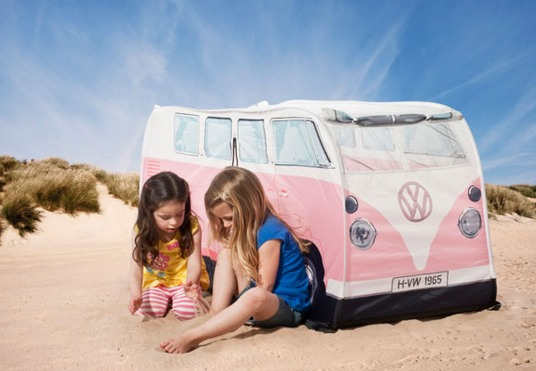 1965 VW Camper Van Play Tent Review + Holiday Gift Guide 2014