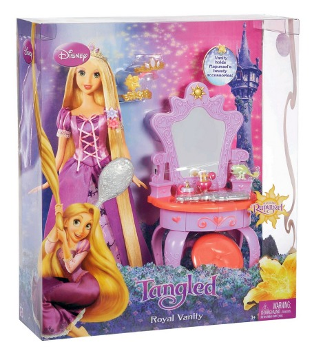 Disney Tangled Featuring Rapunzel Vanity Playset Only $10.88 (Reg. $25.99)
