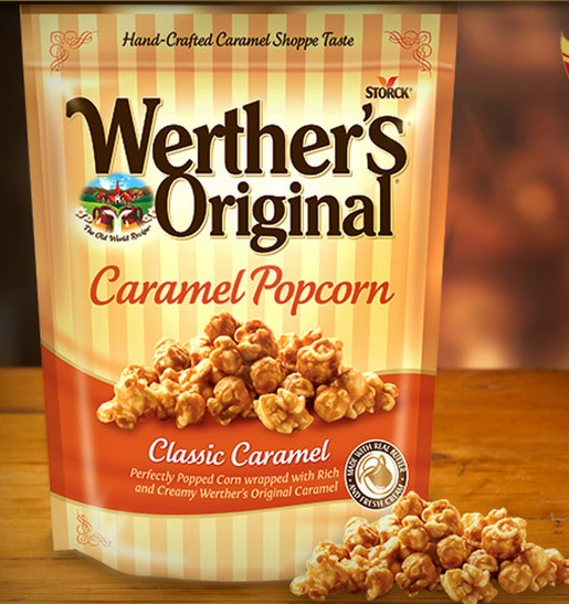 *HOT* Walmart: Werthers Caramel Popcorn Bags Only $0.38!