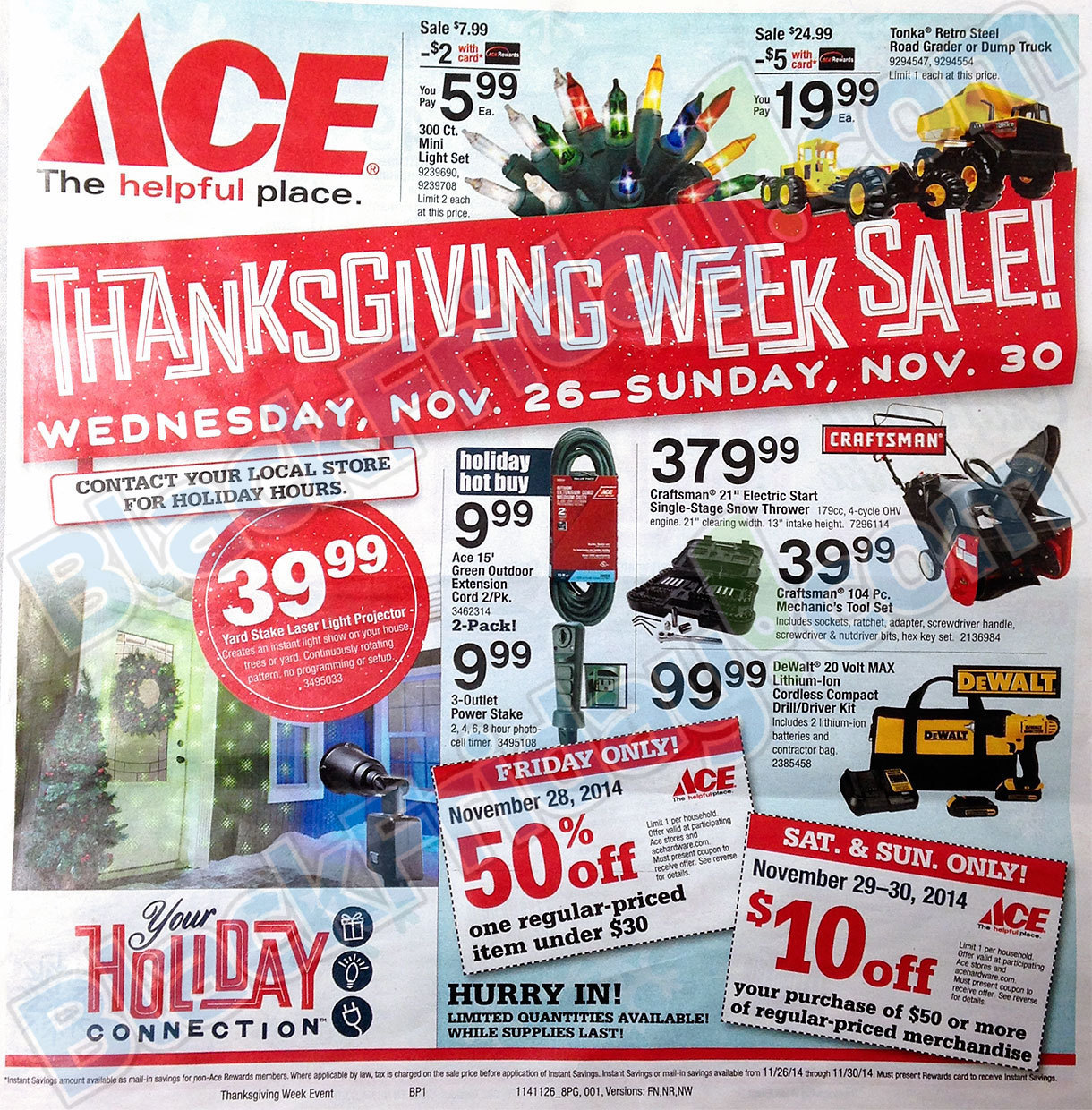 May The 4th Be With You Deals: 2014 Ace Hardware Black Friday Ad! (LEAKED