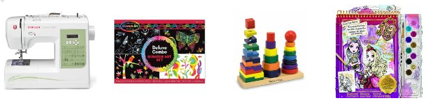 136 Amazon Lightning Deals List = AMAZING Toy and Gift Deals 11/23