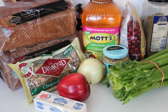 226 Cranberry Apple Walnut Stuffing (Thanksgiving Recipe)