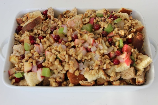 519 Cranberry Apple Walnut Stuffing (Thanksgiving Recipe)