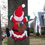 Amazon: Santa Splat Tree Wrap Only $27.99 (Reg. $42)