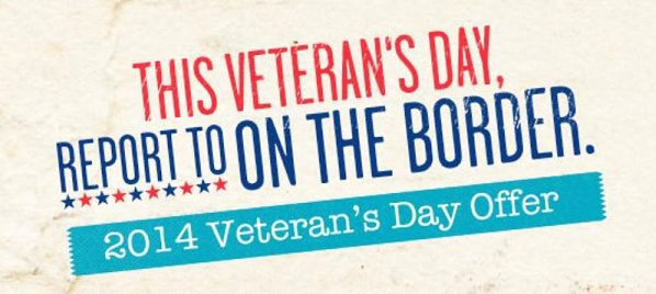 7 2014 Veteran's Day FREE Meals and Discounts (HUGE LIST!)