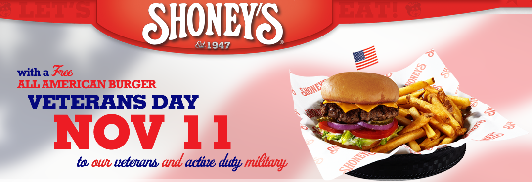 9 2014 Veteran's Day FREE Meals and Discounts (HUGE LIST!)