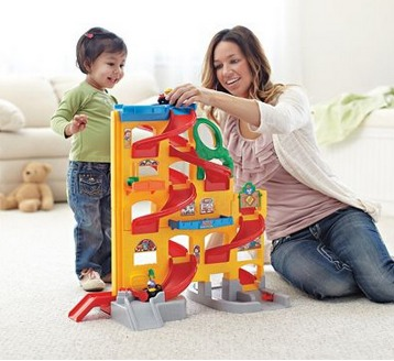 Fisher Price Little People Wheelies Stand n Play Rampway ONLY $33.99 (Reg. $89.99)!