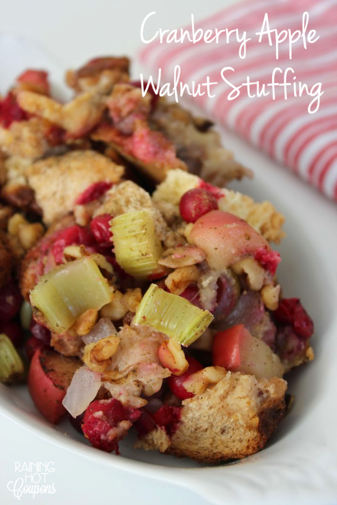 Cranberry Apple Walnut Stuffing 2