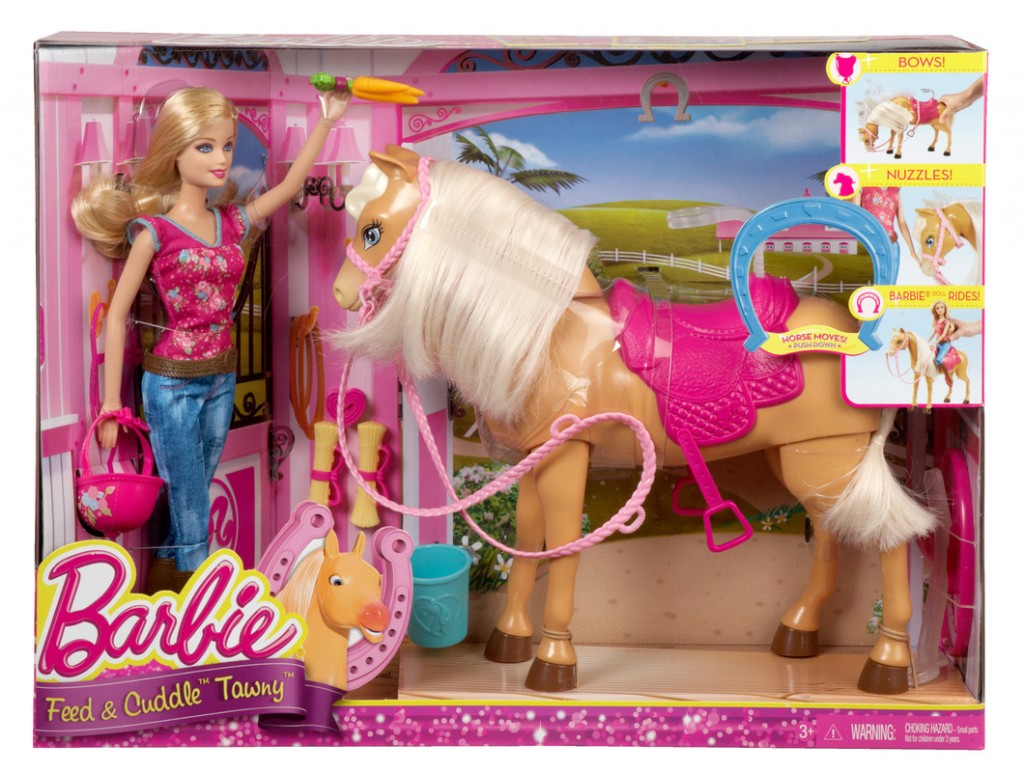 HORSE 1024x772 Target: Barbie Doll & Tawny Horse Set ONLY $21.50 (Reg. $42.99) TODAY ONLY!