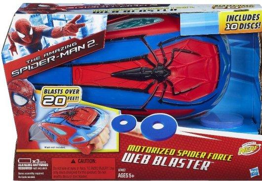 Marvel The Amazing Spider Man 2 Motorized Spider Force Web Blaster Marvel The Amazing Spider Man 2 Motorized Spider Force Web Blaster $7.17 (Reg. 21.99!)