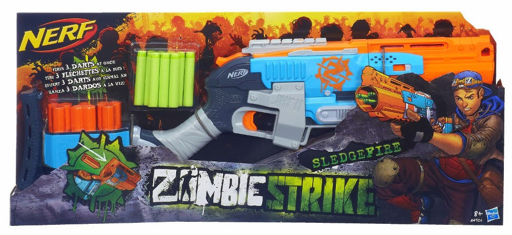 Hurry over to Amazon, where you can get a great deal on this Nerf gun! You  can currently get this Nerf Zombie Strike Sledge Fire Blaster Set ...