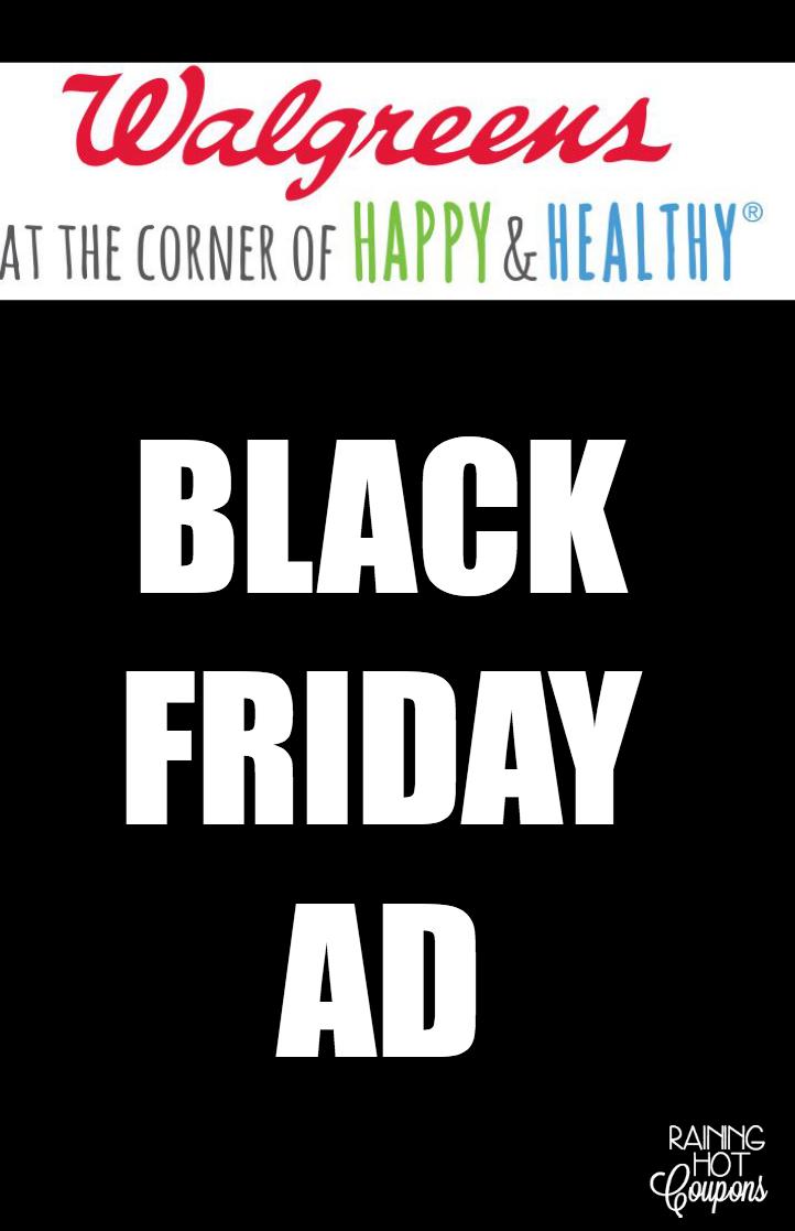 WALGREENS BLACK FRIDAY AD 2014