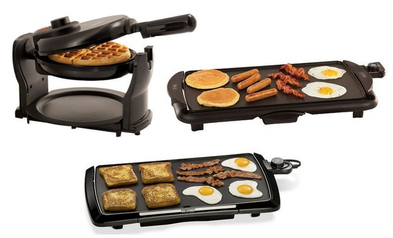 Kohl's: *HOT* Waffle Maker & Electric Griddles ONLY $1.99 Each Shipped (Reg. $39.99)
