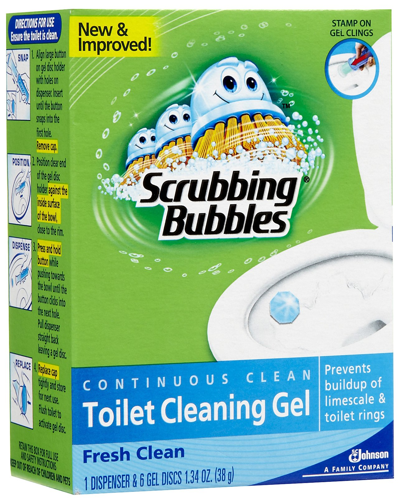asj 116 1z Walgreens: FREE Scrubbing Bubbles Toilet Cleaning Gel + $2 Money Maker