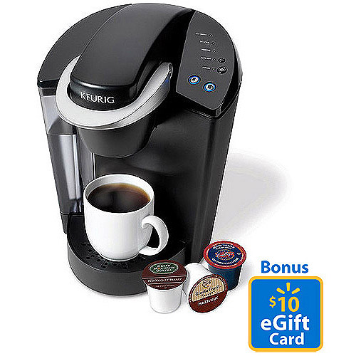 bonus Keurig Elite K40 Single Serve Coffeemaker Brewing System ONLY $89.99!