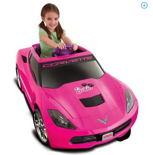 Fisher Price Power Wheels Corvette 12 Volt Battery Powered Ride On Only $99 (Reg. $199) + FREE Shipping!
