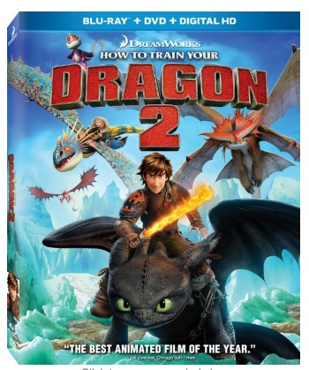 How to Train Your Dragon 2 [Blu ray, DVD, Digital HD] ONLY $9.96 (Reg. $39.99)!