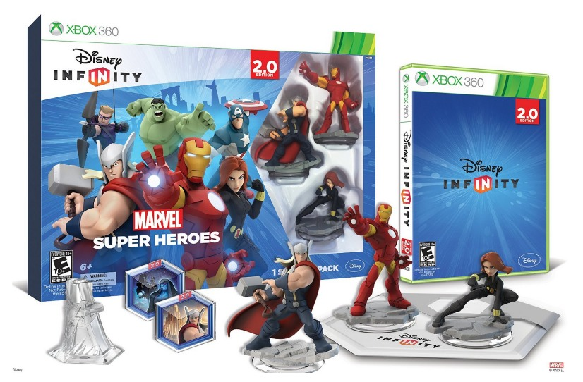 *HOT* Disney INFINITY: Marvel Super Heroes (2.0 Edition) Video Game Starter Pack for ALL Gaming Systems $39.99 (Reg. $74.99) + FREE Shipping!