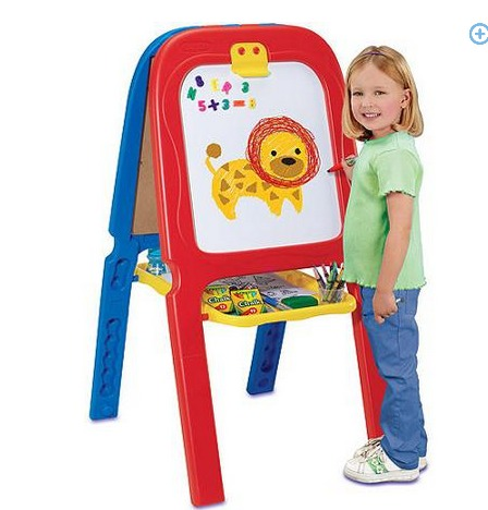 Crayola 3 in 1 Double Easel with Magnetic Letters ONLY $19 (Reg. $40!)