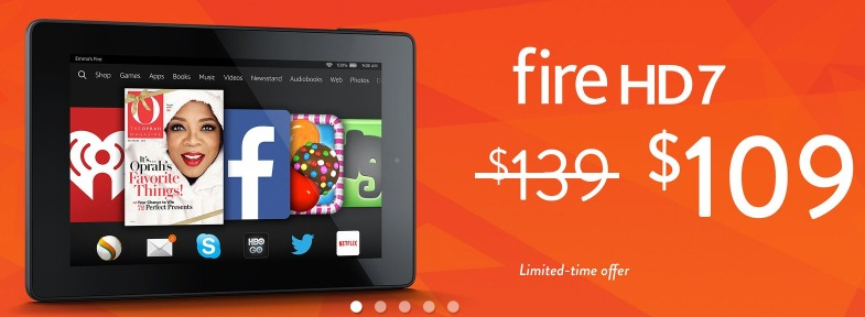 Fire hd 7 7 hd display wi fi 8 gb only 109 reg 139 for Firebox promotion code