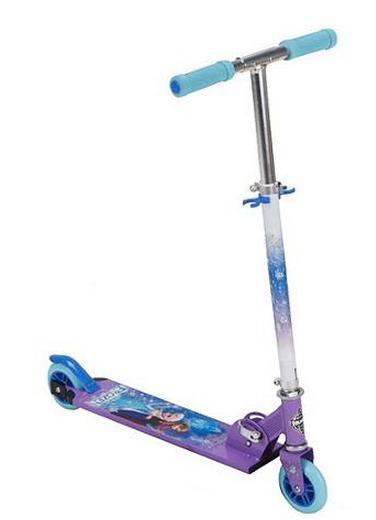 Huffy Disney Frozen Girls Inline Folding Kick Scooter ONLY $15 (Reg. $40+!)