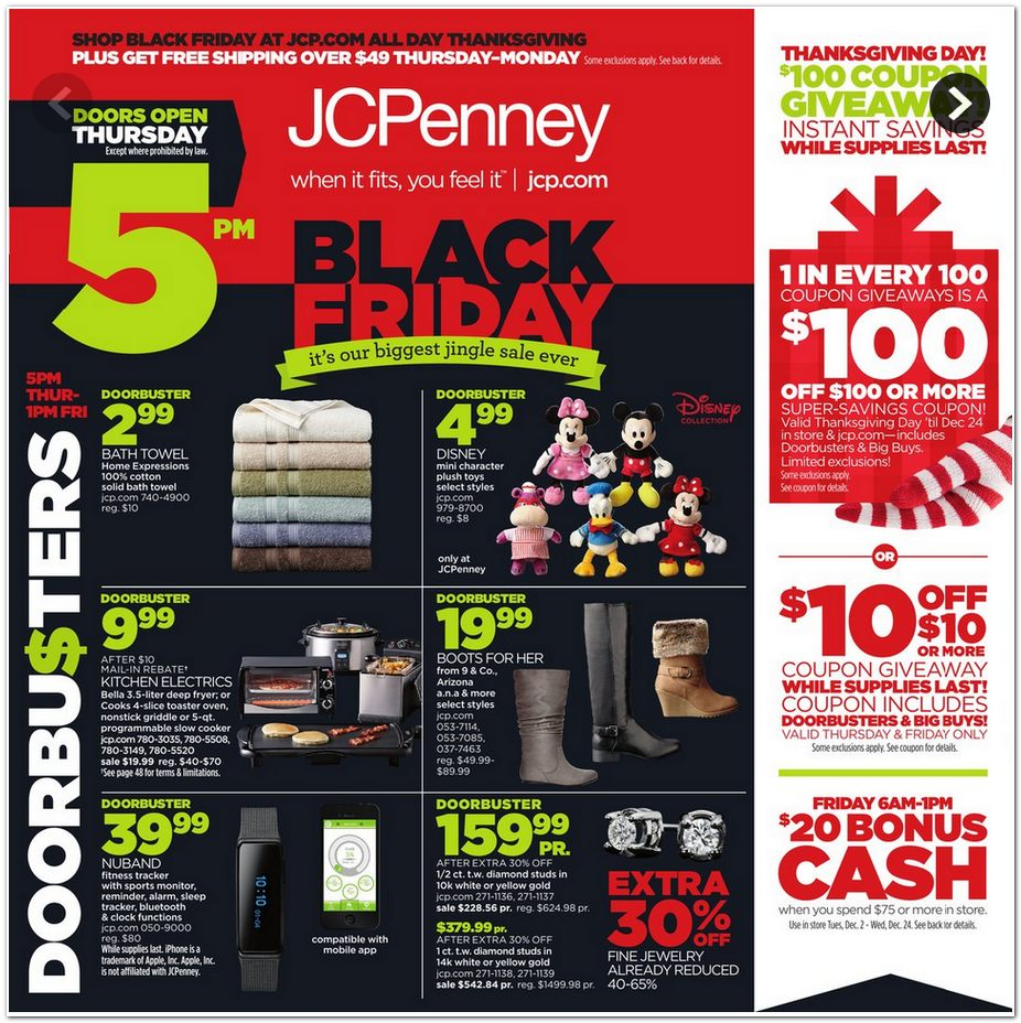jcpenney black friday ad. Black Bedroom Furniture Sets. Home Design Ideas