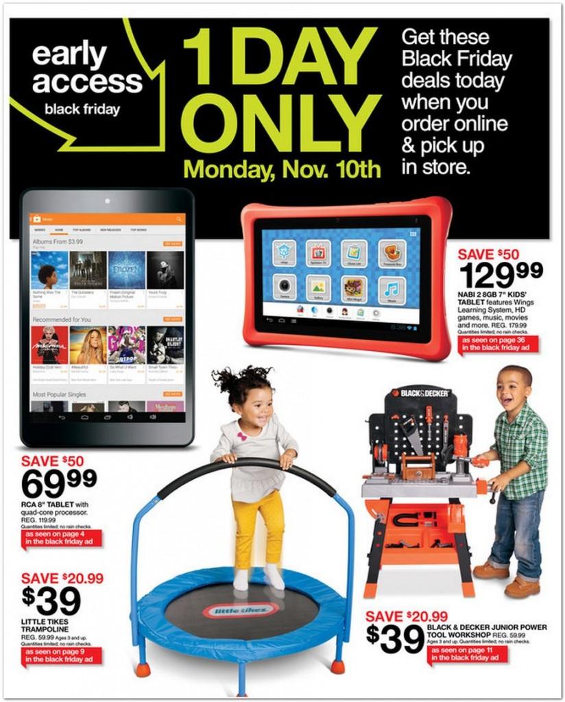 Target black friday coupon code