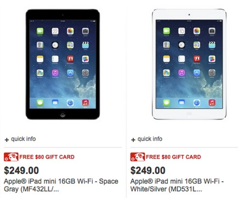 Target: BLACK FRIDAY iPad Deals are LIVE!!!! = ONLY $169 + FREE shipping!