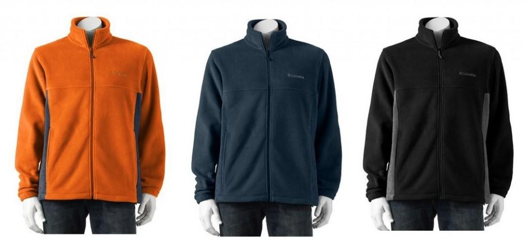 Columbia Sportswear Flattop Mountain Easy Care Fleece Jackets for Men ONLY $23.99 (Reg. $60!)