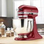*HOT* KitchenAid Artisan 5-qt. Stand Mixer (MULTIPLE COLORS) Only $126.99 (Reg. $449.99) Shipped!
