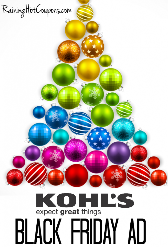 kohl s black friday ad 2016 is live