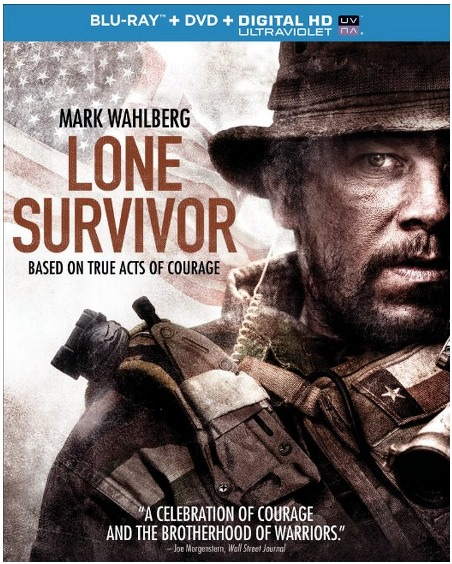 Lone Survivor (Blu ray + DVD + Digital HD with UltraViolet) ONLY $7.99 (Reg. $34.98)!
