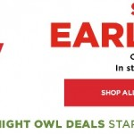 *HOT* Kohl's Early Bird Sale is LIVE!!!! (20% Off Everything, Additional 10% Off, FREE Shipping and more!)