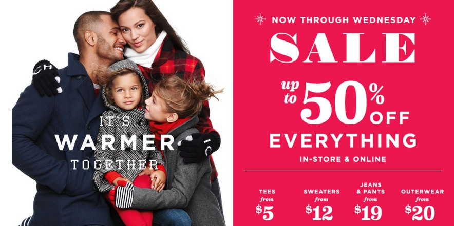 *HOT* Old Navy: Up to 50% off EVERYTHING + Additional 15% off = HOT DEALS!