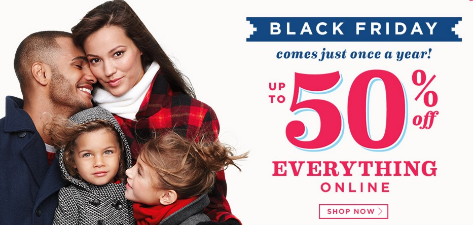 Old Navy BLACK FRIDAY DEALS are LIVE!!!!! Up to 50% Off + Additional 15% off!