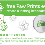 *HOT* Petco: FREE Paw Print Ornament/Keepsake (TODAY ONLY!)