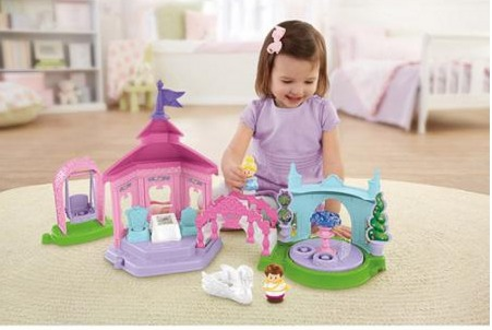 Fisher Price Little People Disney Princess Garden Party Playset ONLY $20 (Reg. $40!)