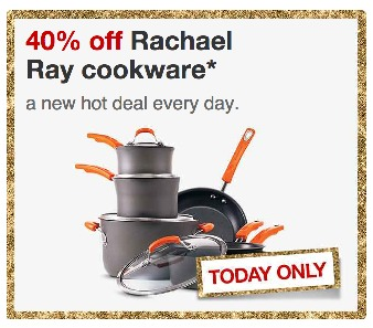 Target: *HOT* 40% Off Rachael Ray Cookware (TODAY ONLY!)