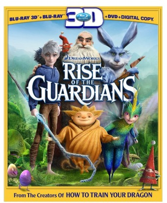 Amazon: Rise of the Guardians 3D, Blu ray, DVD Only $9.99 + FREE $7.50 Movie Ticket and More! (Reg. $54.99)