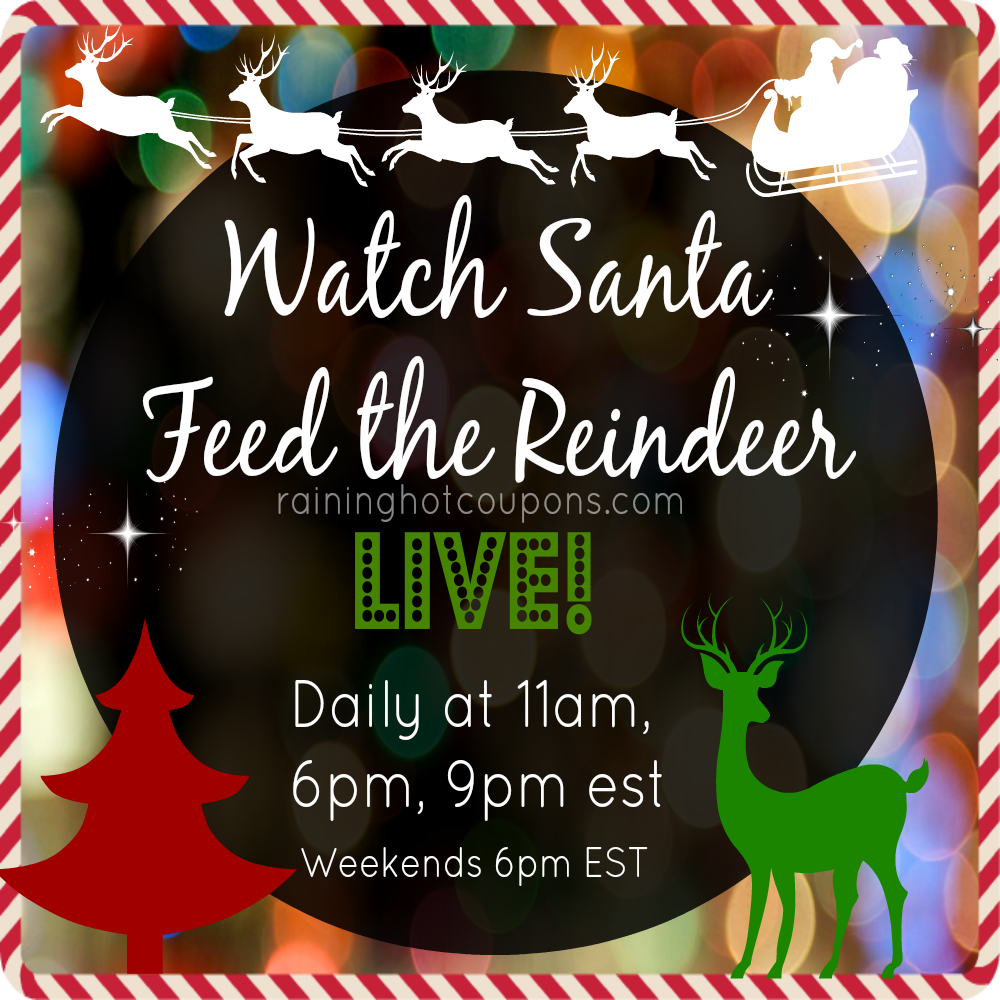 santa FREE Calls from Santa, Watch the Reindeer LIVE, FREE Personalized Santa Video and more!